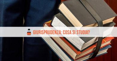 Giurisprudenza cosa si studia