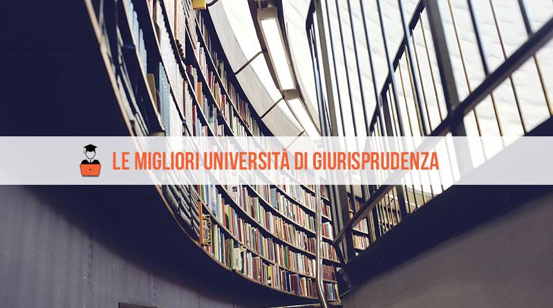 Migliori Università Giurisprudenza: la classifica 2020