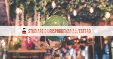 Studiare Giurisprudenza all'Estero: tutte le informazioni