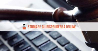 Studiare Giurisprudenza Online: tutto quello che c'è da sapere