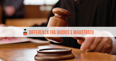 In cosa consiste la differenza tra Giudice e Magistrato?
