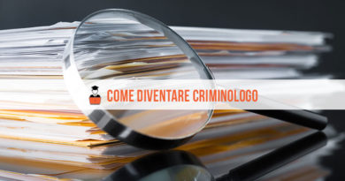 Come diventare criminologo