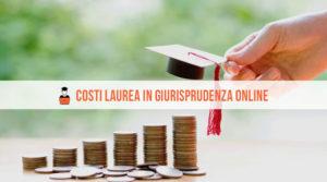 Costi laurea giurisprudenza online