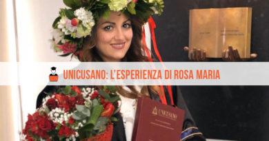 Opinioni Unicusano Giurisprudenza Rosa Maria
