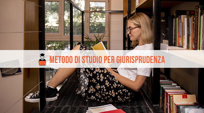 Metodo di Studio Giurisprudenza