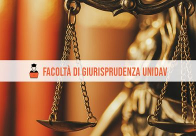 Facoltà Giurisprudenza Unidav: offerta formativa A.A. 2021/2022