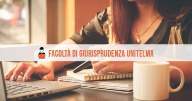 Facoltà Giurisprudenza Unitelma: offerta formativa per l'A.A. 2021/2022